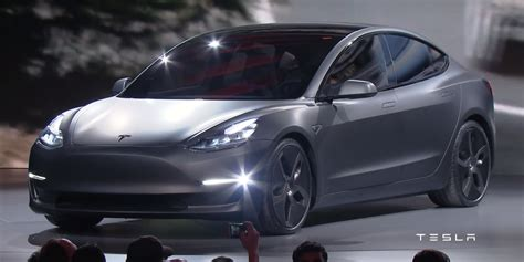 tesla model 3 gray tesla model 3 knocked it out of the park business insider