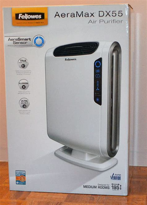 fellowes aeramax dx55 air purifier review the gadgeteer