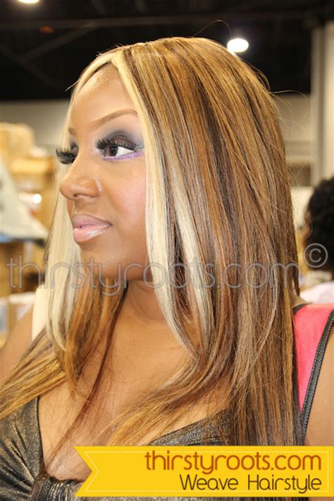 sew  weave hairstyles  invisible parts