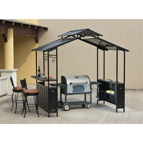 Backyard Grill Shelter Deluxe Hardtop Grill Shelter Patio Garden