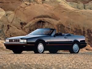 Cadillac Allante Review Cadillac Allante Specs 1987 1988 1989 1990 1991