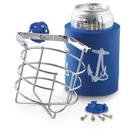 sea ray boat cup holders shoreline swivel drink holder with koozie 208386 boat