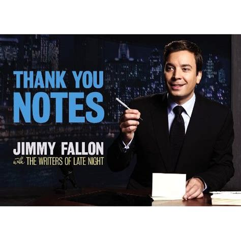 book review thank you notes by jimmy fallon concert