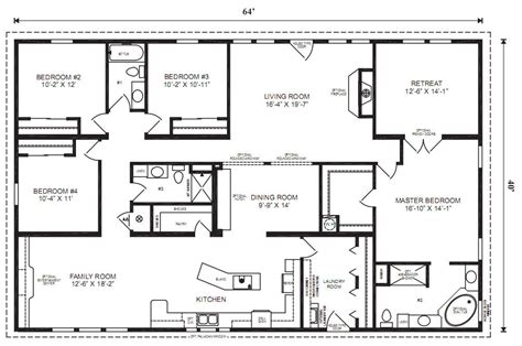 16 215 80 Mobile Home Floor Plans Bee Home Plan Home Floor Plans For Houses
