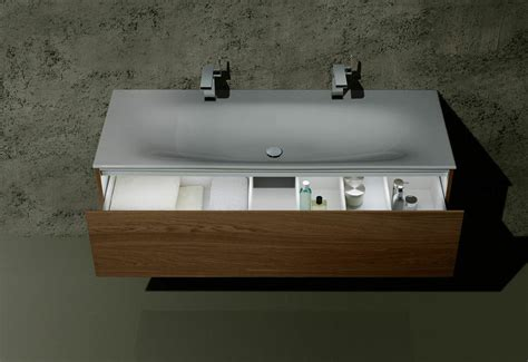 Showers In Baths keuco edition 11 washbasin and vanity unit with led light
