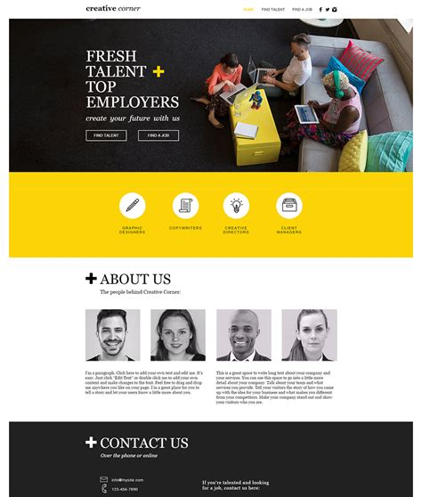 creative team unique net designs custom website design