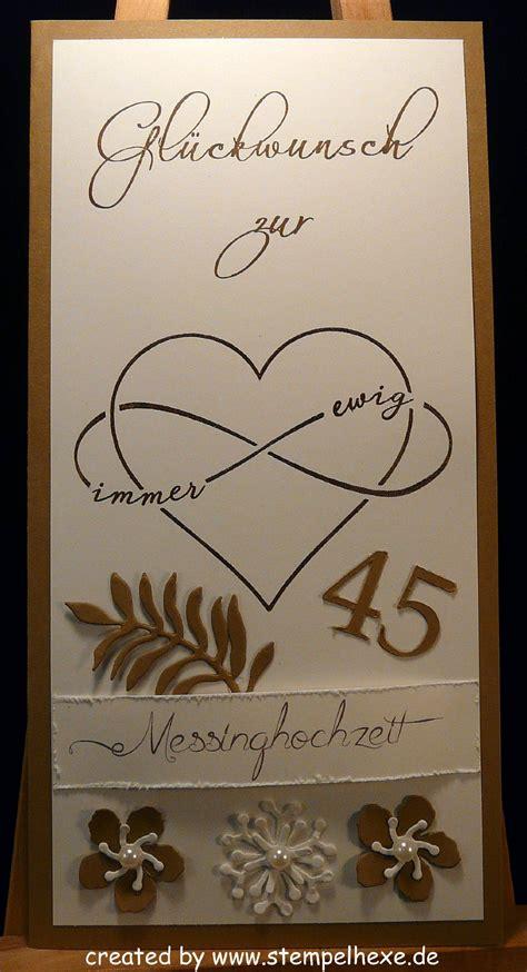 Hochzeit 45 Jahre by 45 Hochzeitstag Messinghochzeit Stin Stempelhex