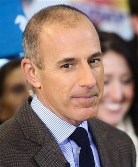 how long is matt lauers hair matt lauer too soft on chris brown the hollywood gossip