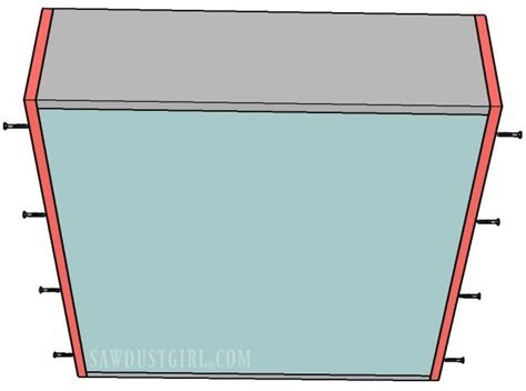 how to make a cabinet drawer how to build a cabinet drawer the easiest way possible