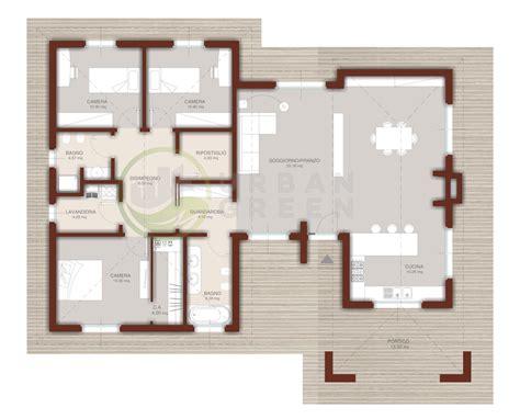 descrizione casa casa in legno monopiano urb18 green