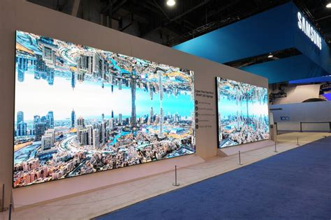 Samsung The Wall Samsung The Wall Professional Display Wordlesstech