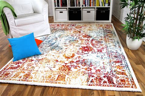 teppich bunt designer gabbeh teppich vintage orient bunt teppiche nepal