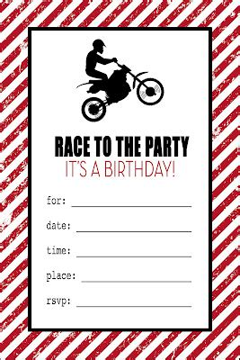 Free Printable Motorcycle Birthday Invitations Son Pinterest Motorcycle Birthday Free Motorcycle Birthday Invitation Templates