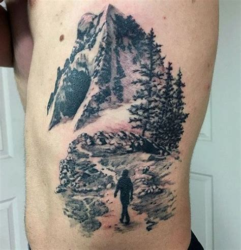 tattoo tribal mountain 33 best man in the mountain tattoo images on pinterest