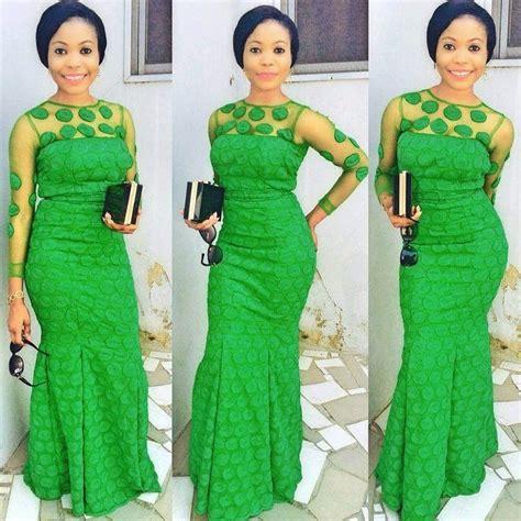 green lace nigerian women designs for weddings gt latest aso ebi styles vol 1 adeoti daramola