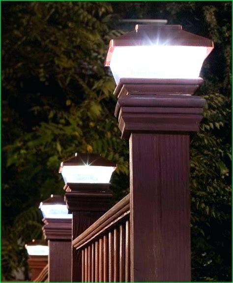 solar post cap lights 6x6 solar light for deck post solar post lights outdoor
