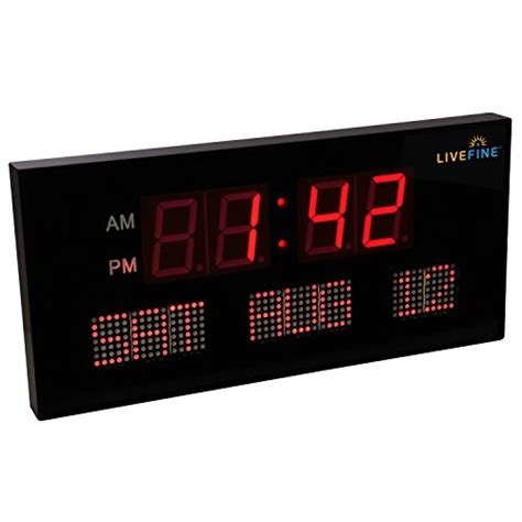 ivation clock compare price to big display digital clock tragerlaw biz