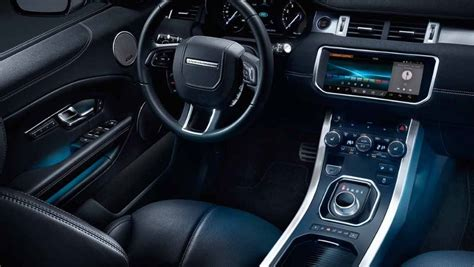 land rover interior land rover range rover evoque photo interior image carwale