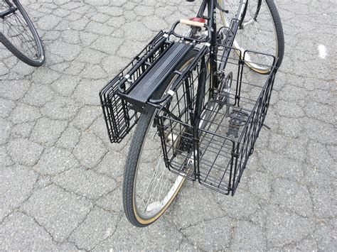 Bicycle Rear Rack Basket by Fabricaciop Rear Bike Rack Basket