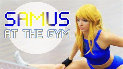 self bikini zero suit samus training cosplay http bit
