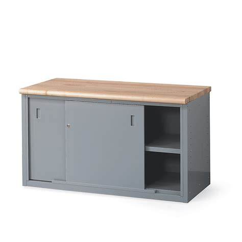 work bench cabinets lyon cabinet style workbench 72x28x34 with doors