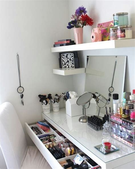 Makeup Organizer Ikea les 25 meilleures id 233 es concernant tiroirs de rangement de