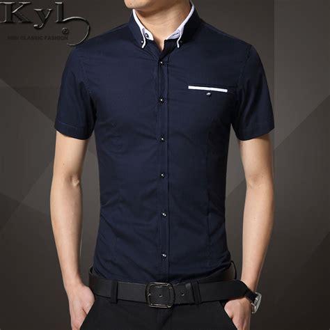 Atasan Murah Casual Coloured Shirt A0207 mens shirts slim fit 95 cotton m 5xl 2016 mens dress shirts clothes social casual shirt