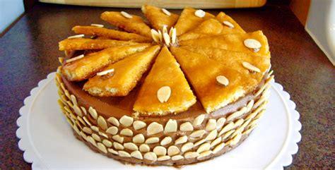 Budapest Cake 10x24cm Sweet Dessert budapest dobos torte hungary sweet budapest dessert