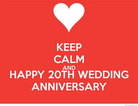 20th Anniversary Wedding by 20th Wedding Anniversary Quotes Quotesgram