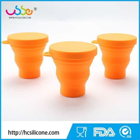 Silicone Foldable Cup Mould foldable silicone collapsible cups cing cups travel cup