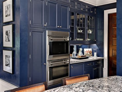 Navy Blue Kitchen Cabinets by Awesome Navy Blue Kitchen Cabinets 8 Blue Kitchens