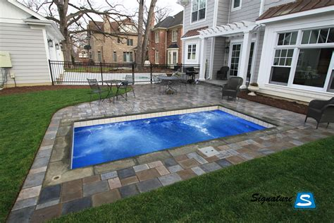 pools small fiberglass pools top 9 picture ideas with small plunge pool designs joy studio design gallery