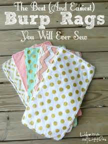 Rag quilt alphabet letters from yellow suitcase studio