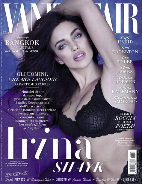 Vanity Fair Magazine Irian Shayk In Vanity Fair Magazine Italy March 2016