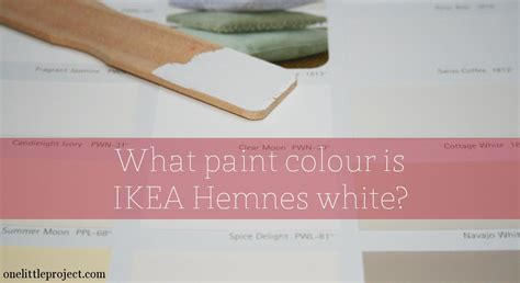 paint to match what paint colour is ikea hemnes white