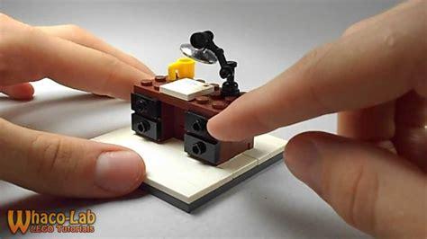 how to make a desk lego tutorial how to build a desk