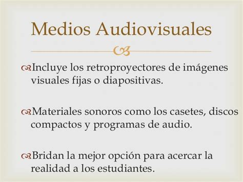Imagenes Visuales Fijas | uso de medios para did 225 cticos