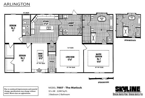 arlington 7007 the matlock home by oakwood homes of las cruces