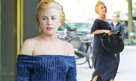 Awkward Out In Ny by Gaga Suffers Awkward Wardrobe Malfunction In Nyc