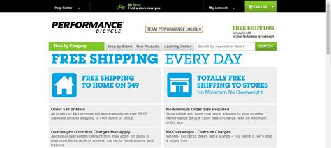 Free Shipping On Every Order 75 by 75 Performance Bicycle Coupon Codes 2017 Dealspotr