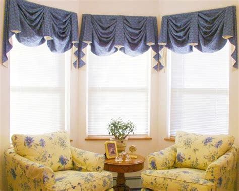 Drapes Bay Window Varieties Of Valances For Windows Available For Your Home