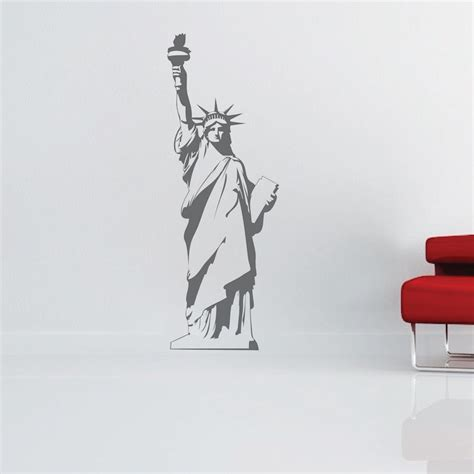 statue of liberty wall sticker statue of liberty wall decal trendy wall decals