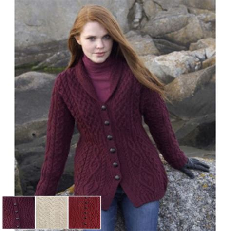 My Sweater Coat Obsession by Shawl Collar Aran Jacket My Style Clothing
