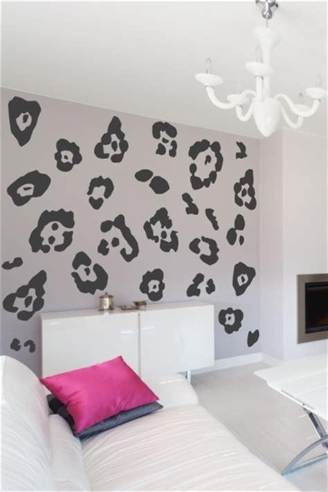 cute tiger leopard waterproof wall sticker home decor leopard print wall decal walltat com art without boundaries