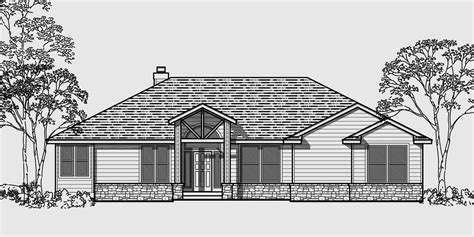 front garage house plans master bedroom on main floor first floor downstairs easy