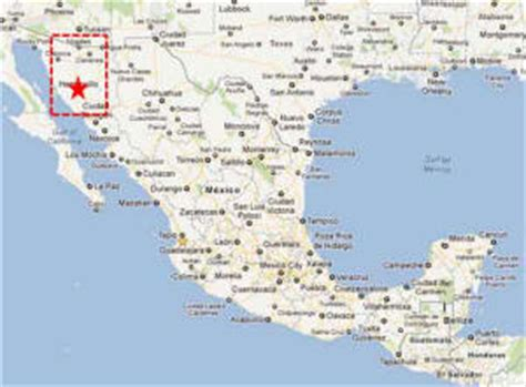 hermosillo sonora mexico map hermosillo sonora