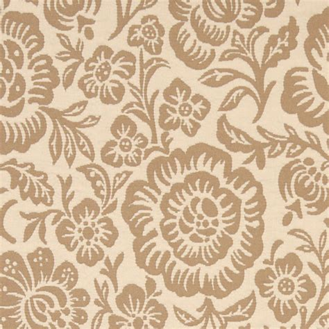 matelasse upholstery fabric beige and tan floral reversible matelasse upholstery