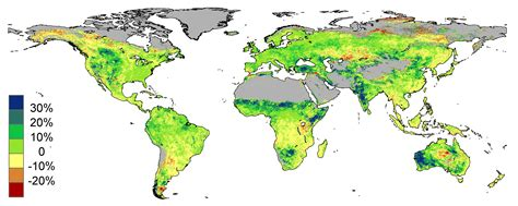 all the world is green deserts greening from rising co2