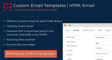 opencart order status email templates pdf invoice