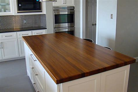 Countertop For Kitchen Island Afromosia Wood Countertop Photo Gallery By Devos Custom Woodworking